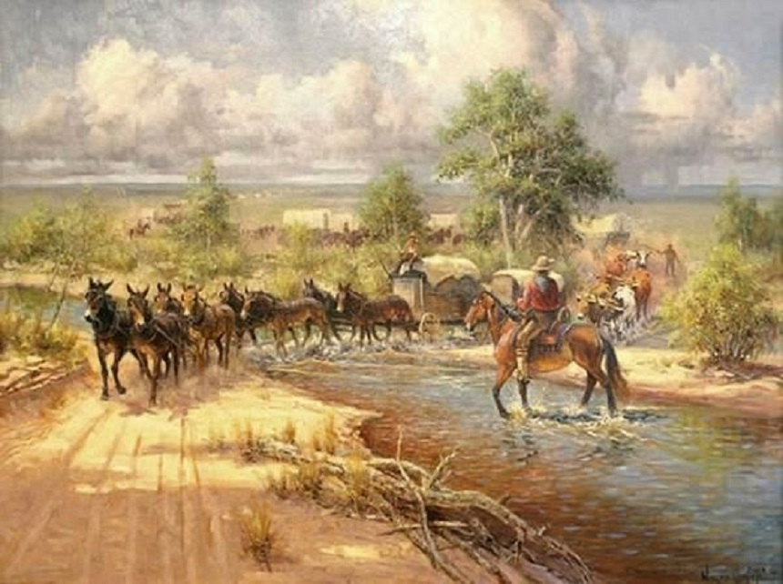 Santa Fe Trail by Wayne Cooper